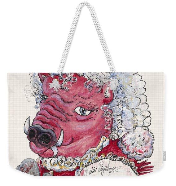 Mrs. Claus Hog Weekender Tote Bag