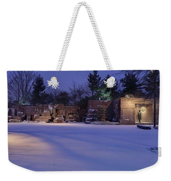 Mrs. Roosevelt Weekender Tote Bag