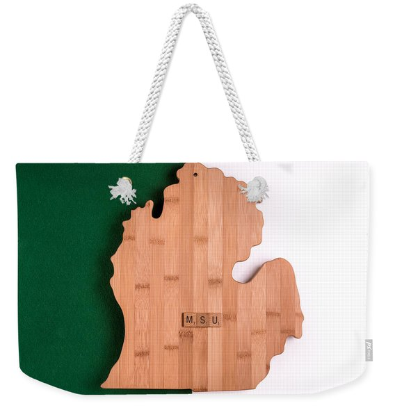 Msu Inspireme Weekender Tote Bag