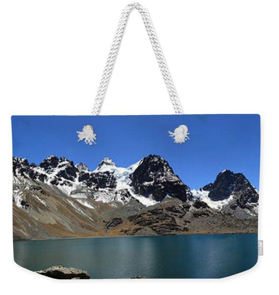 Mt Condoriri Panorama Weekender Tote Bag