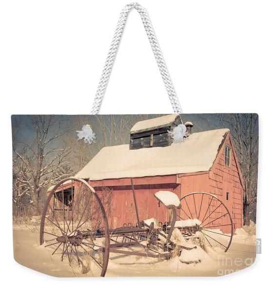 Mt. Cube Farm Old Sugar Shack Weekender Tote Bag