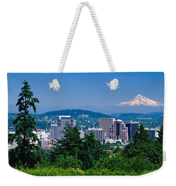 Mt Hood Portland Oregon Usa Weekender Tote Bag