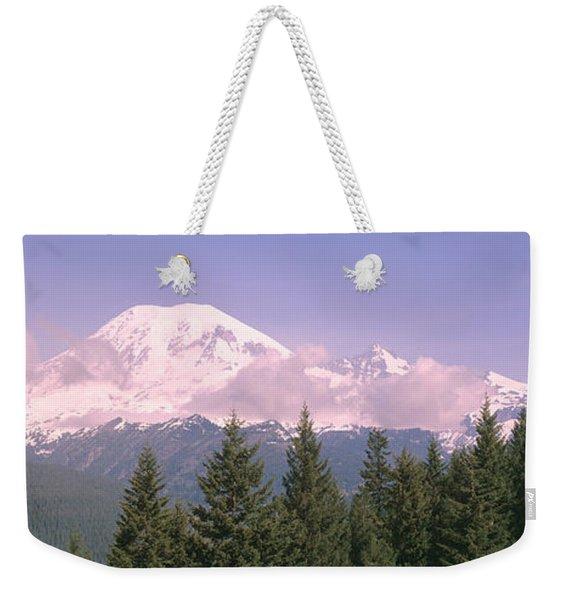 Mt Ranier Mt Ranier National Park Wa Weekender Tote Bag