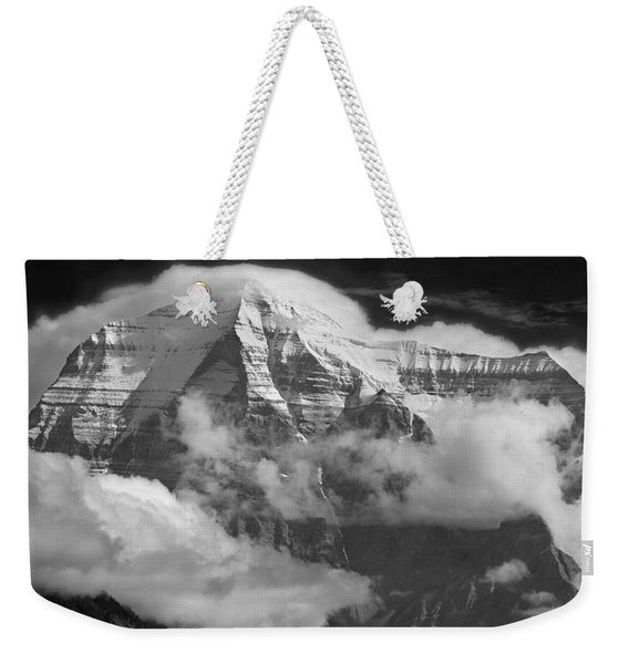102496-mt. Robson Wreathed In Clouds Weekender Tote Bag