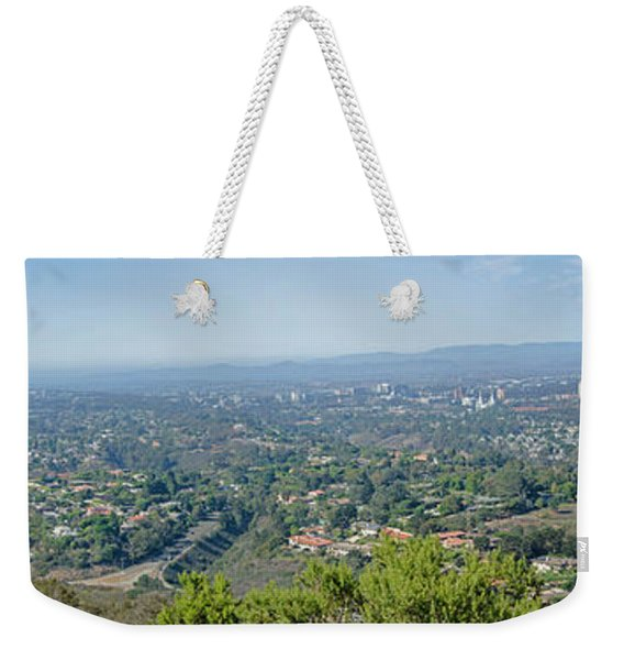 Mt. Soledad - View To The North Weekender Tote Bag