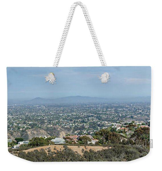 Mt. Soledad - View To The South 2  Weekender Tote Bag