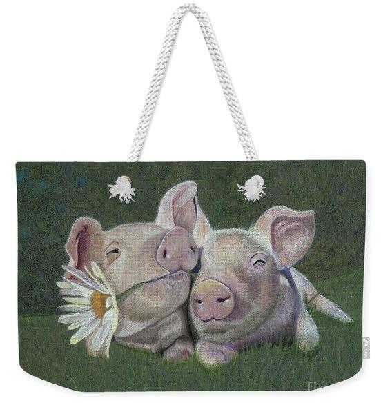 Mu And Shu Weekender Tote Bag
