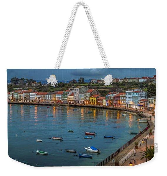 Mugardos Panorama Galicia Spain Weekender Tote Bag