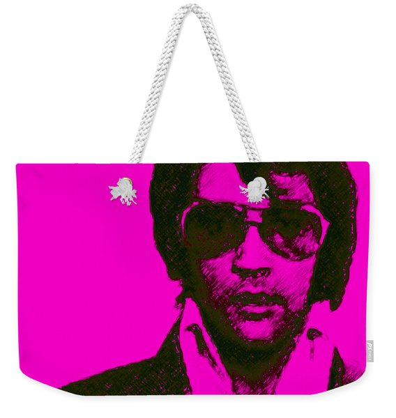 Mugshot Elvis Presley M80 Weekender Tote Bag