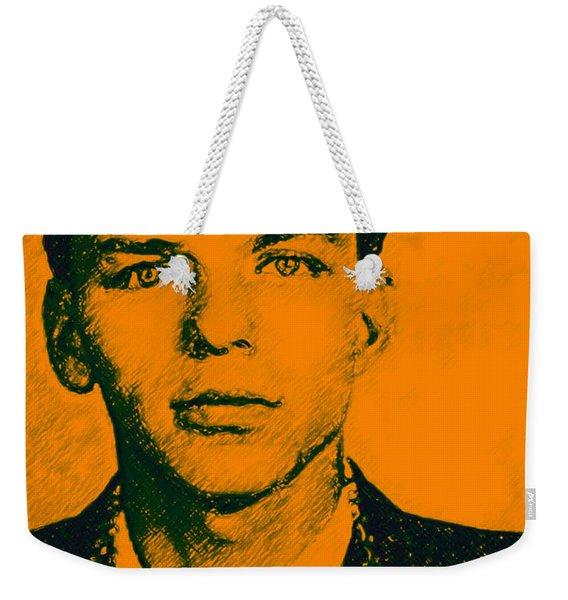 Mugshot Frank Sinatra V1 Weekender Tote Bag