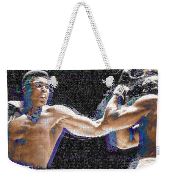 Muhammad Ali Weekender Tote Bag