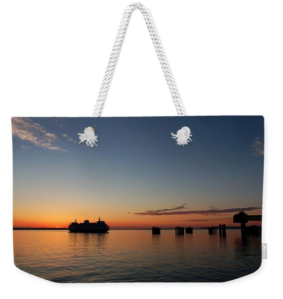 Mukilteo Ferry Weekender Tote Bag