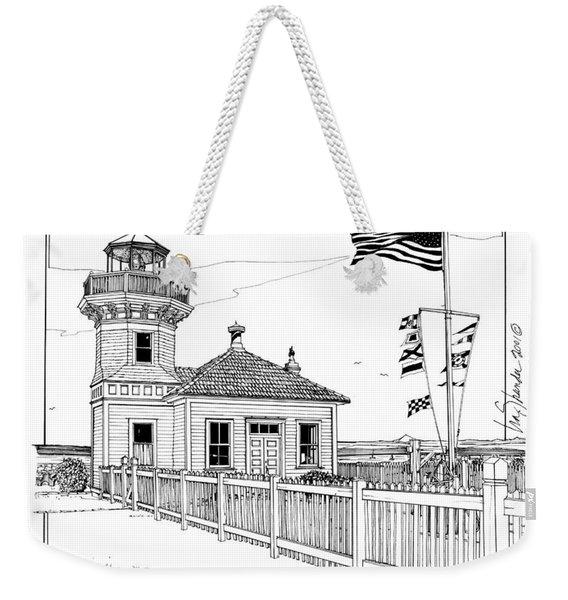 Mukilteo Light Weekender Tote Bag