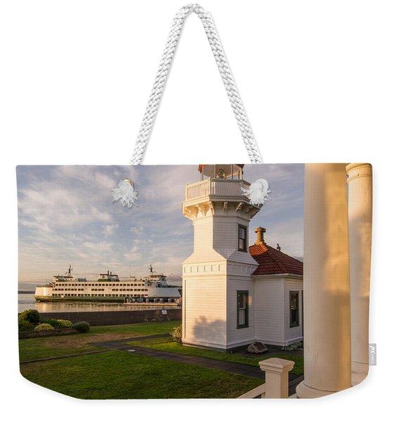 Mukilteo Lighthouse 2 Weekender Tote Bag