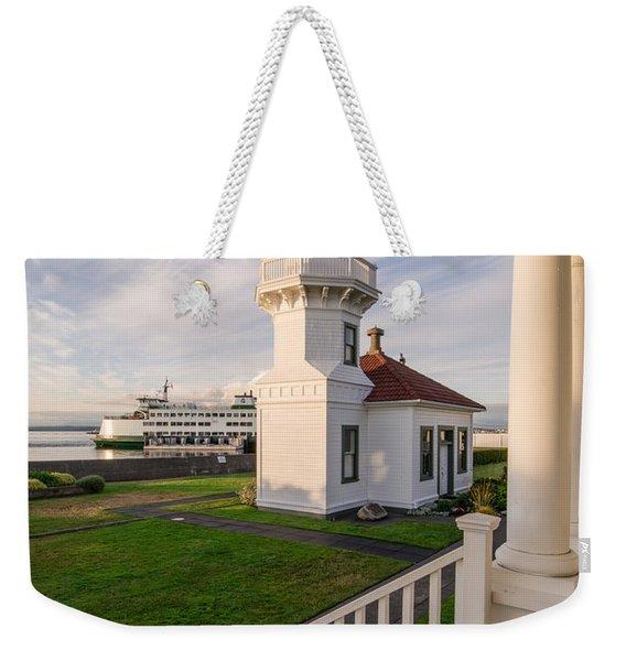 Mukilteo Lighthouse 4 Weekender Tote Bag