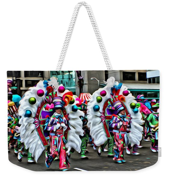 Mummer Color Weekender Tote Bag