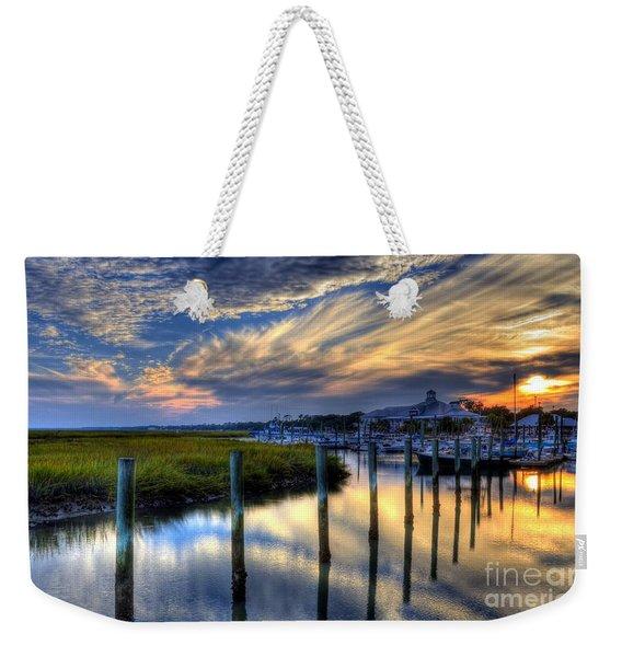 Murrells Inlet Sunset 1 Weekender Tote Bag