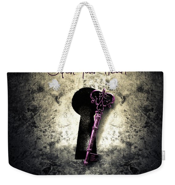 Music Gives Back - Open Your Heart Weekender Tote Bag