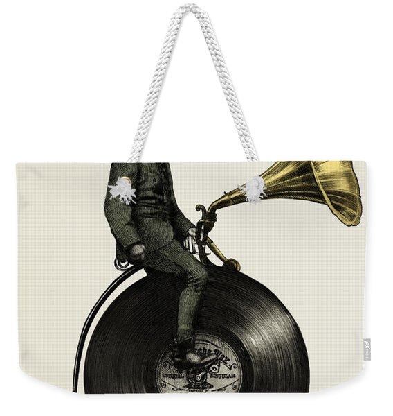 Music Man Weekender Tote Bag