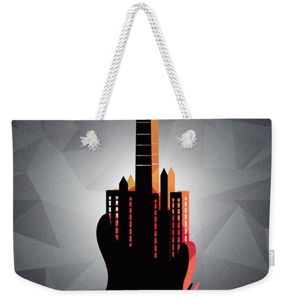 music NYC  Weekender Tote Bag