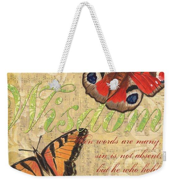 Musical Butterflies 4 Weekender Tote Bag