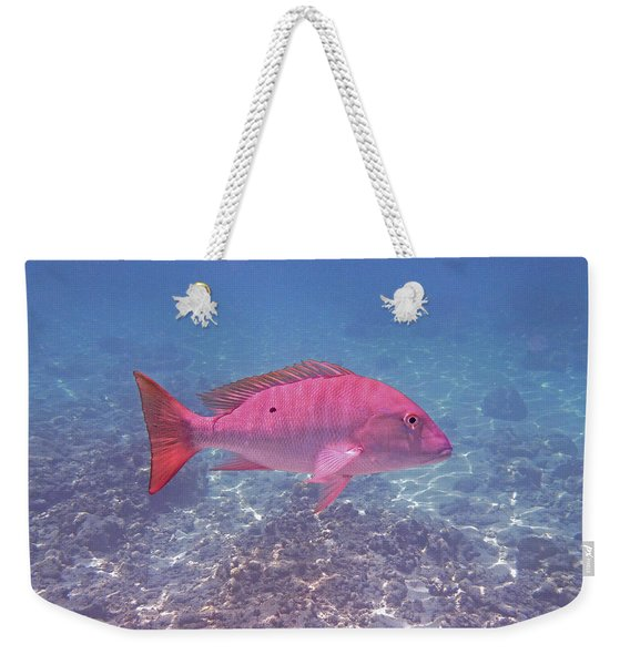 Mutton Snapper Profile Weekender Tote Bag