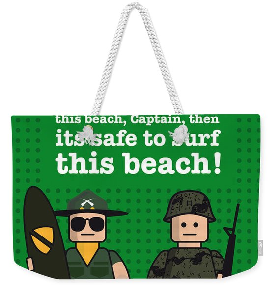 My Apocalypse Now Lego Dialogue Poster Weekender Tote Bag