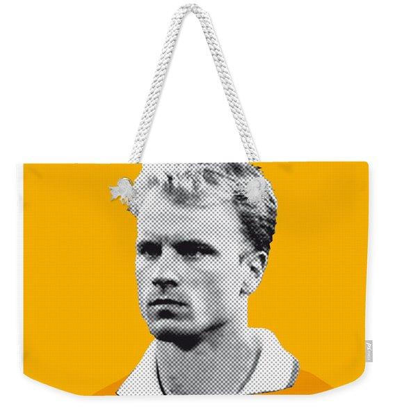 My Bergkamp Soccer Legend Poster Weekender Tote Bag