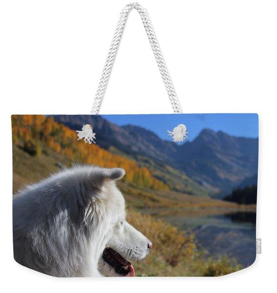 Woman's Best Friend Weekender Tote Bag