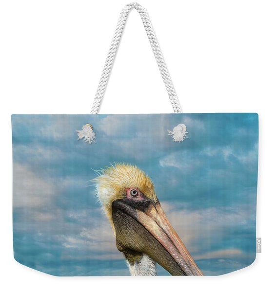 My Better Side - Florida Brown Pelican Weekender Tote Bag