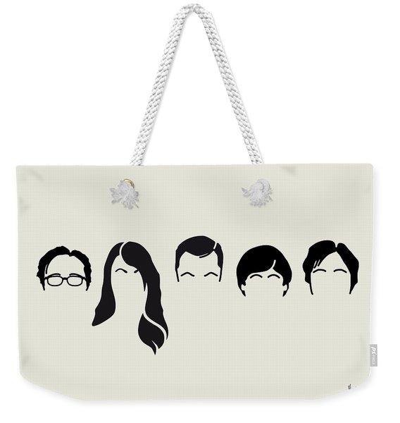 My-big-bang-hair-theory Weekender Tote Bag