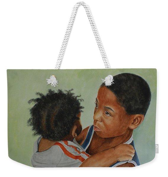 My Brother's Keeper Weekender Tote Bag