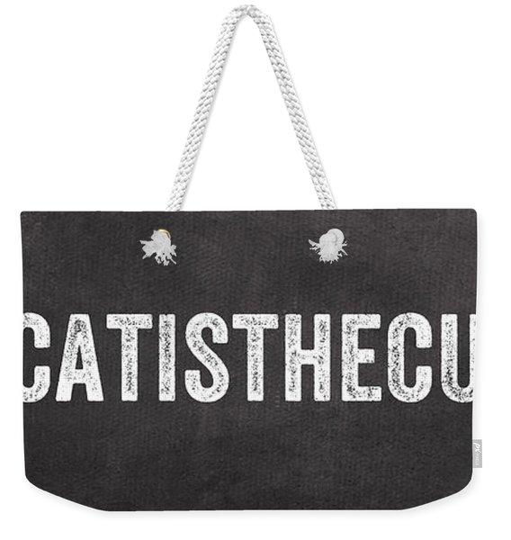 My Cat Is The Cutest Weekender Tote Bag