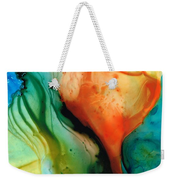 My Cup Runneth Over - Abstract Art By Sharon Cummings Weekender Tote Bag