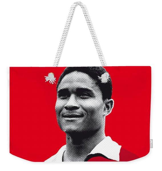 My Eusebio Soccer Legend Poster Weekender Tote Bag