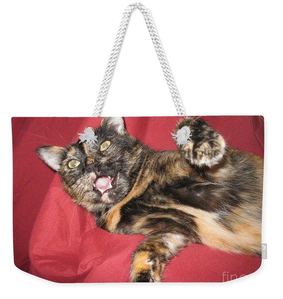 My Funny Cat Weekender Tote Bag