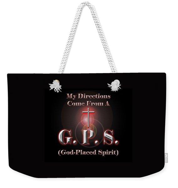 My Gps Weekender Tote Bag