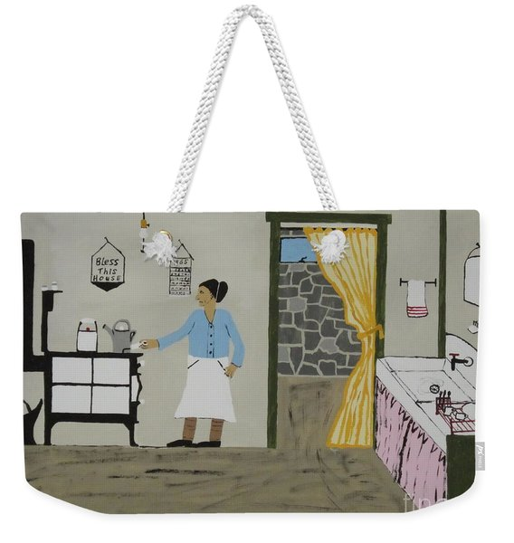 Coal Miners Wife Weekender Tote Bag
