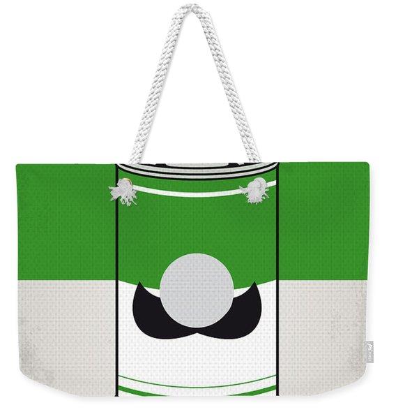 My Mario Warhols Minimal Can Poster-luigi Weekender Tote Bag
