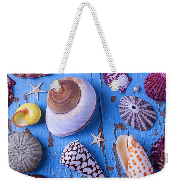My Shell Collection Weekender Tote Bag