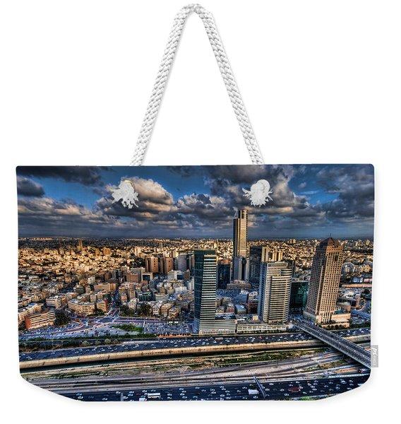 My Sim City Weekender Tote Bag