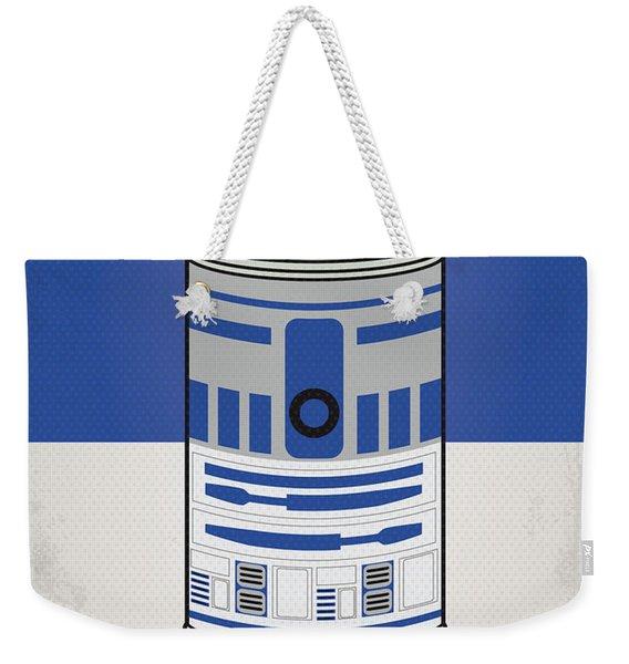 My Star Warhols R2d2 Minimal Can Poster Weekender Tote Bag