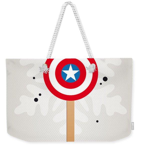 My Superhero Ice Pop - Captain America Weekender Tote Bag