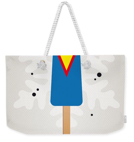 My Superhero Ice Pop - Superman Weekender Tote Bag