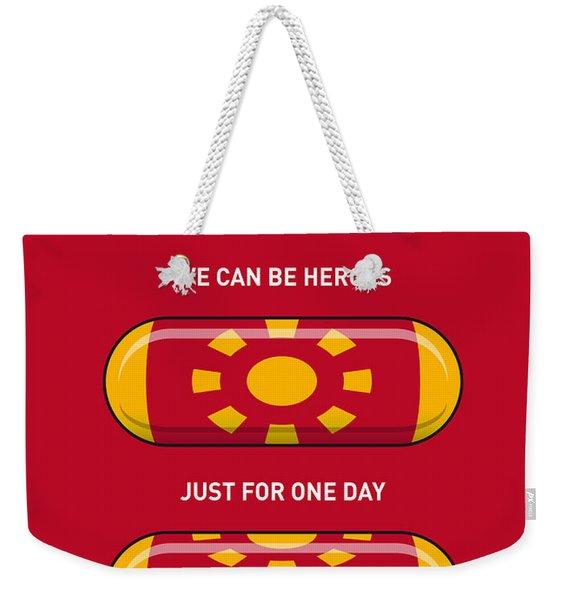 My Superhero Pills - Iron Man Weekender Tote Bag