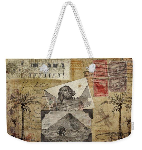 My Trip To Egypt 1914 Weekender Tote Bag