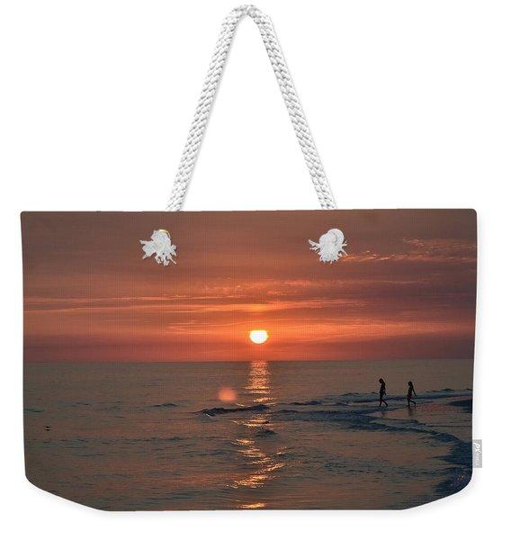 My Two Hearts Weekender Tote Bag