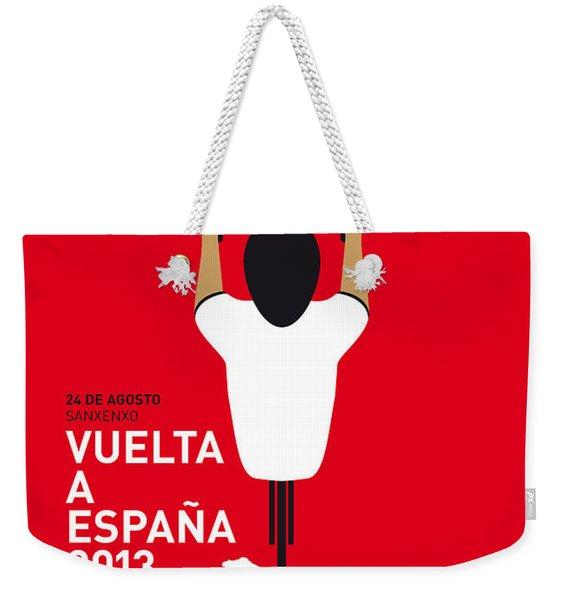 My Vuelta A Espana Minimal Poster - 2013 Weekender Tote Bag