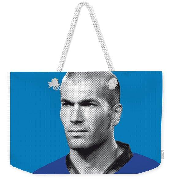 My Zidane Soccer Legend Poster Weekender Tote Bag