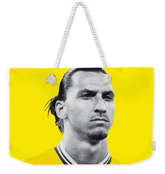 My Zlatan Soccer Legend Poster Weekender Tote Bag
